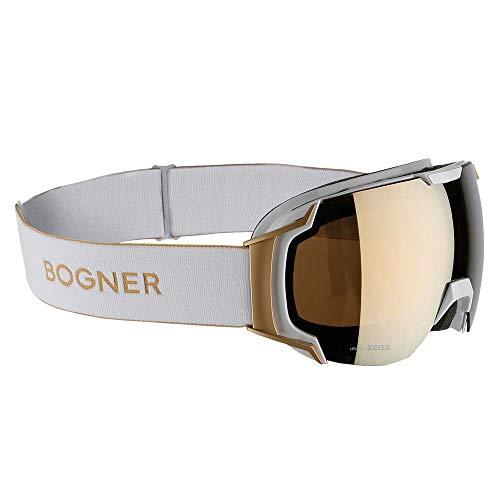 Bogner Snow Goggles Just B | Gold Weiß | Ski & Snowboard Brille | Hochwertige Qualität