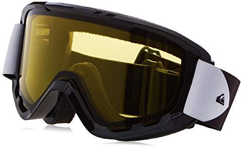 Quiksilver Herren Sherpa Bad Weather-Snowboard-/Skibrille für Männer, True Black, 1SZ