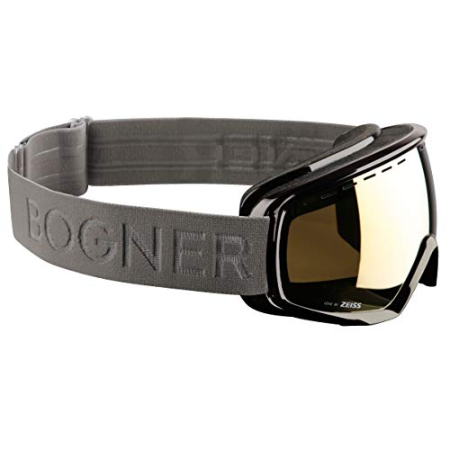 Bogner Snow Goggles Ski-Brille Monochrome Gold | Ruthenium