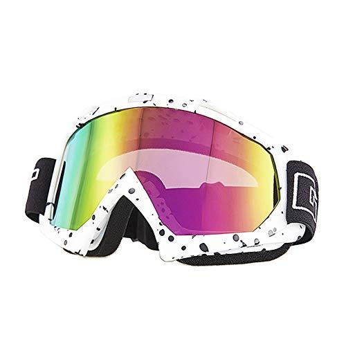 Mdurian Motorradbrille Skibrille Sonnenbrille Schutzbrille Helmbrillen Fliegerbrille Brillen staubdichte UV-Schutz Bunte len