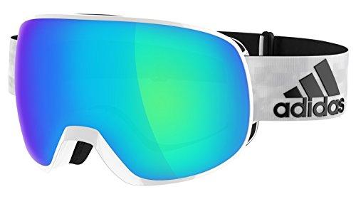 Adidas Brille Skibrille Googles ad82 PROGRESSOR S white shiny 6051