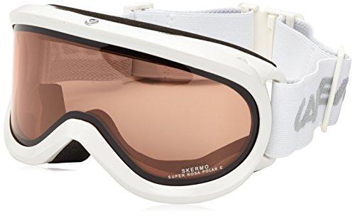 Carrera Skibrille Skermo OTG, White Shiny