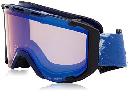 Uvex Snowstrike PM Skibrille, Indigo, One size