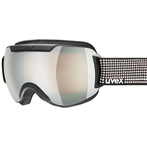 Uvex Downhill 2000 Black/litemirror Silver S3 Double Lens