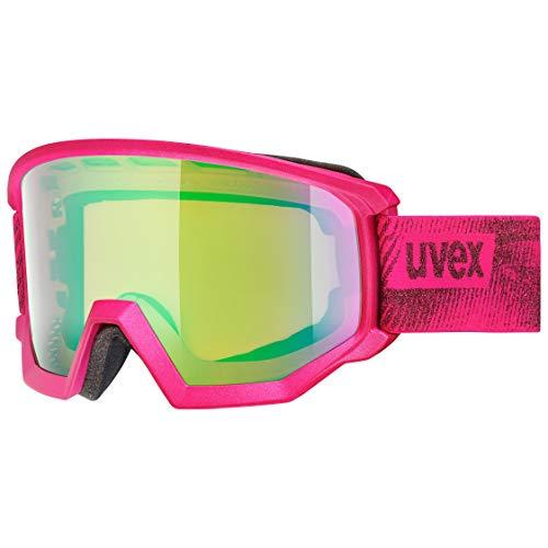 uvex Unisex– Erwachsene, athletic CV Skibrille, pink mat, one size