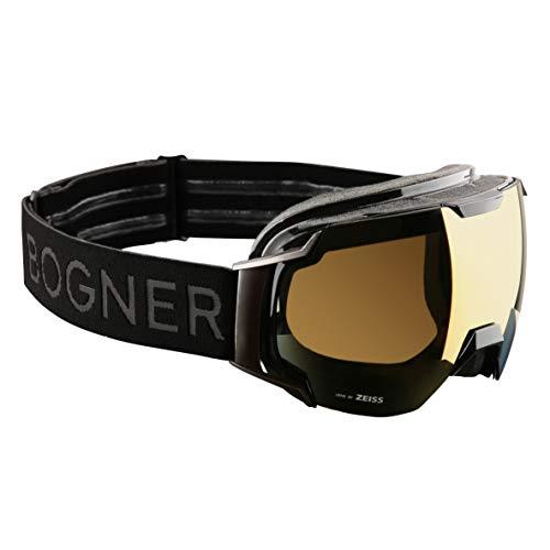 Bogner Snow Goggles Ski-Brille Just-B Gold | Black Ruthenium