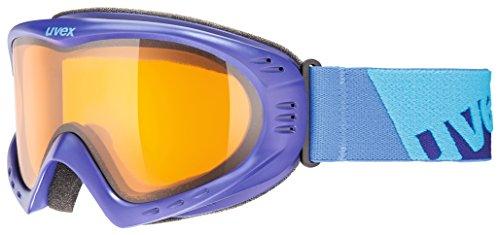 Uvex Erwachsene Cevron Skibrille, Indigo Mat, One Size