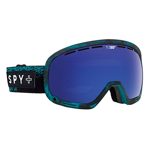 Spy Snow Goggle Marshall Masked Teal, Happy Bronze with Dark Blue Spec, One Size