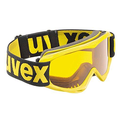 uvex snowcat, yellow/ single lens goldlite, -