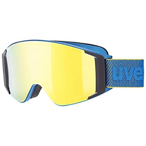 Uvex Unisex– Erwachsene g.gl 3000 to Skibrille, Underwater mat/Gold-Clear, one Size