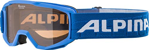 ALPINA PINEY Skibrille, Kinder, blue, one size
