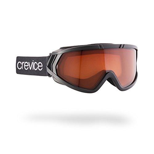 Black Crevice Skibrille für Brillenträger, schwarz, BCR05845B