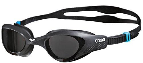 arena The One Anti-Fog Schwimmbrille Unisex für Erwachsene, Schwimmbrille mit Breiten Gläsern, UV-Schutz, Selbstjustierender Nasensteg, Orbit-Proof Dichtungen