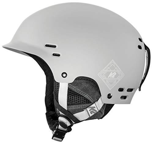 K2 Skis Herren Thrive Gray Skihelm, grau, M