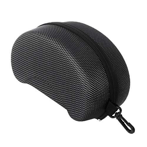 JERKKY Protection Eva Skibrillenetui Sonnenbrillen tragen Zipper Buckle Hard Box Halter