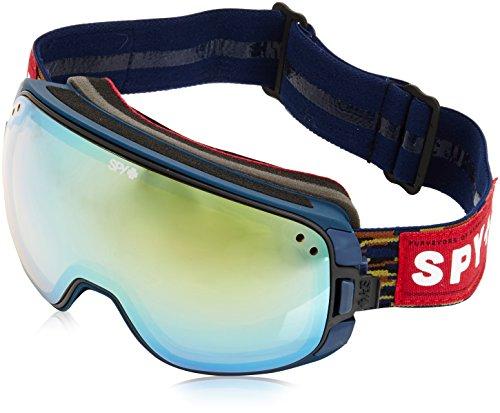 Spy Snow Goggle Bravo-Party Fatigue (with/Bonus Lens), Yellow W/Gold Mirror + Grey W/Black Mirror, One size