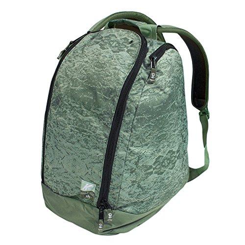 K2 Boot Helmet Bag Deluxe Helmtasche Sporttasche Rucksack für Boots Helm Skibrille 46x35x23 cm 40 Liter Nylon grün - Art. 2025009.1.7