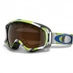 Oakley Twisted polished white Black Shade