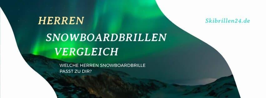 Snowboardbrillen Herren