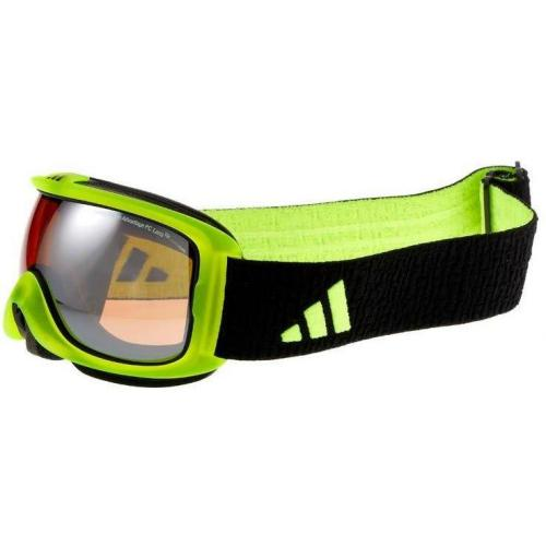 adidas Performance ID2 PURE Skibrille neongelb