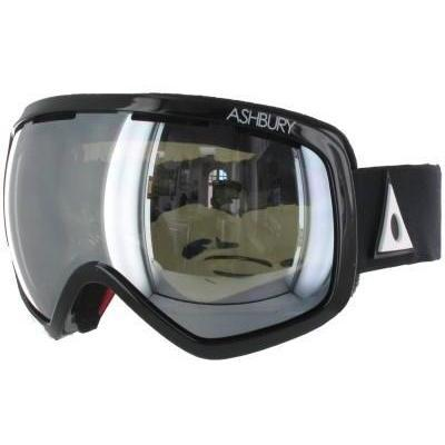 Ashbury Bullet Goggle inkl Bonus Glas black
