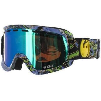 Dragon D2 Purple Migraine Goggle green ionized