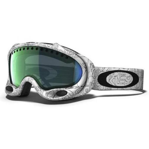 Oakley A Frame White Factory Text