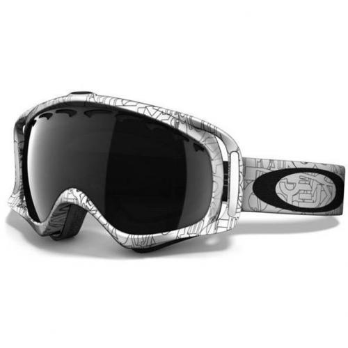 Oakley Crowbar White Factory Text