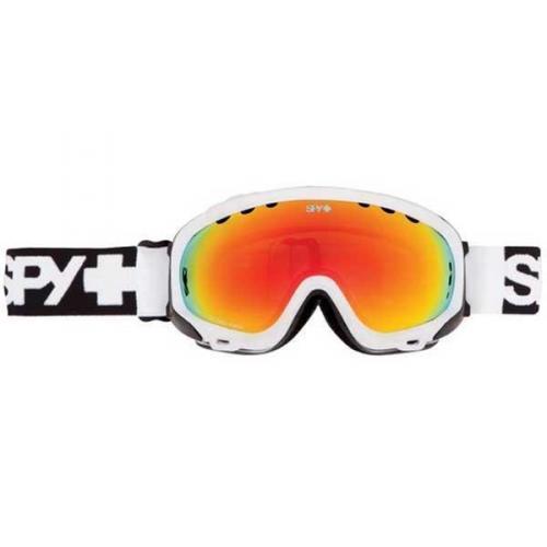Spy Skibrille SOLDIER WHITE - BRONZE W/ RED SPECTRA