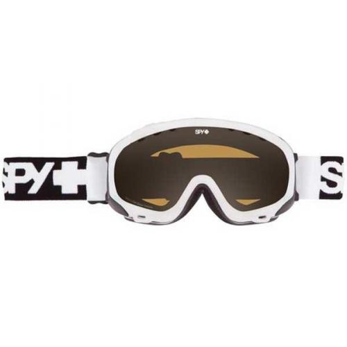 Spy Skibrille SOLDIER WHITE - PERSIMMON