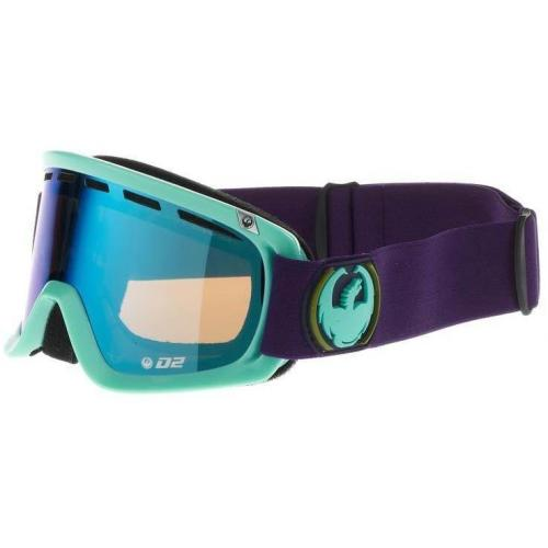 Dragon Alliance D2 Skibrille blau