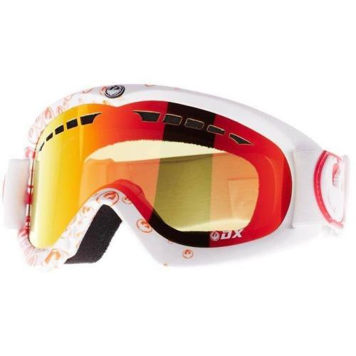 Dragon Alliance DX Skibrille red ionized