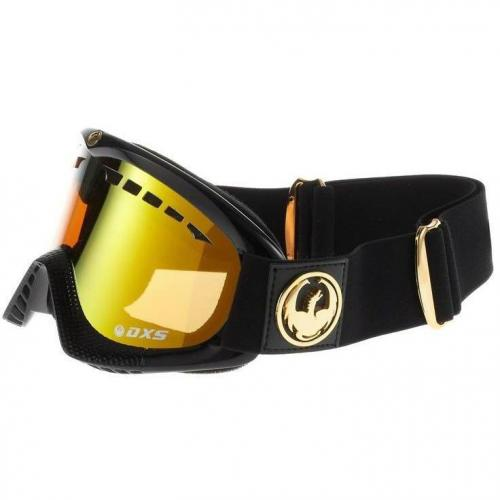 Dragon Alliance JET DXS Skibrille gold