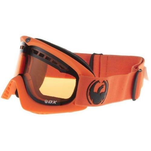 Dragon Alliance MATTE ORANGE DX Skibrille orange/amber