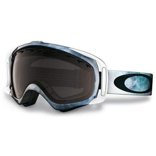 Oakley Crowbar 11 white with blue details