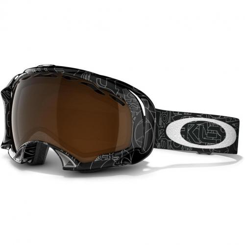 Oakley Splice Black with White Logo