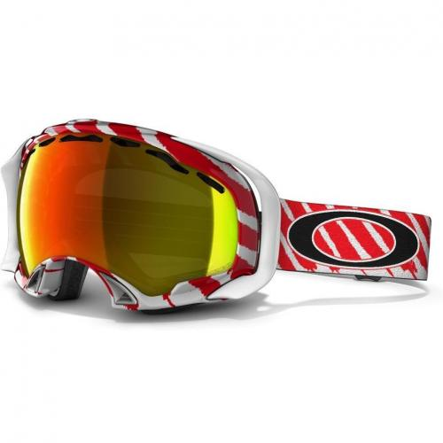Oakley Splice Multicolor Shade, Red Stripes