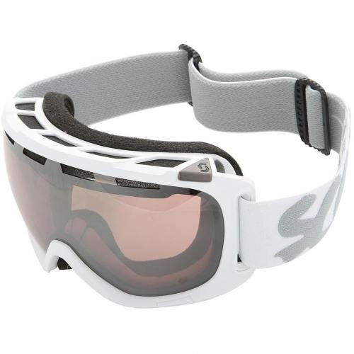Scott Fix Solid Skibrille White-Silver Chrome