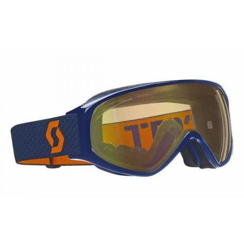 Scott Skibrille Orange Blau Logo