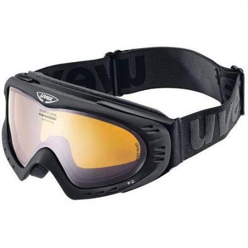 Uvex Skibrille F2 Schwarz