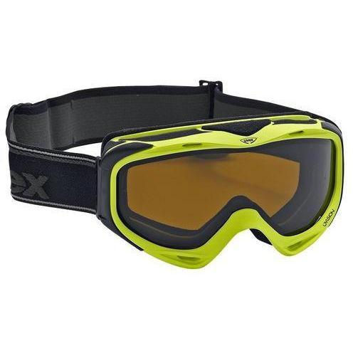 Uvex Skibrille Uvision Grüner Rahmen